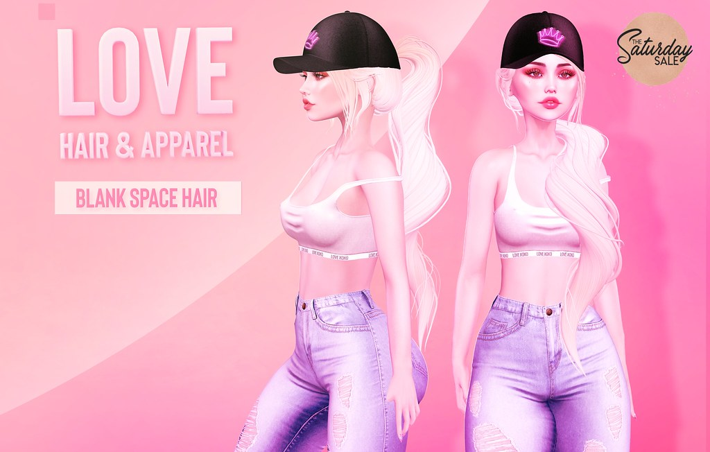 Love [Blank Space] Hair – 75L Fatpack – The Saturday Sale!
