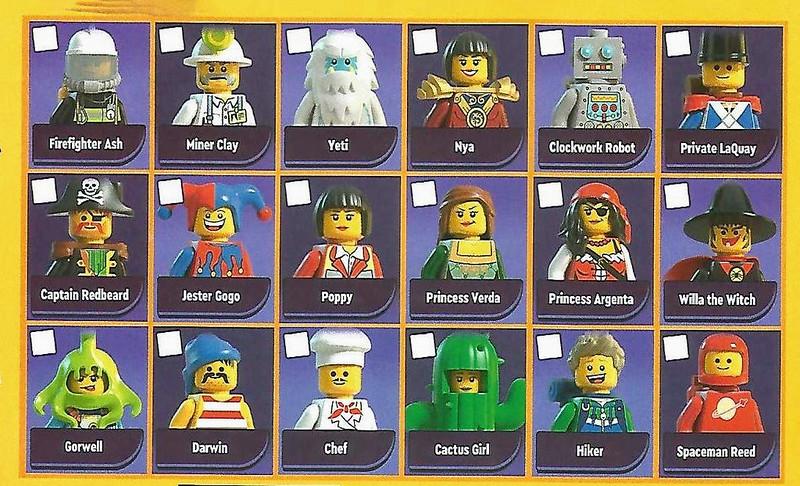 LEGO Legacy Minifigures
