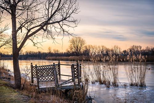 2019 canada december ontario rivercanard fall sunrise