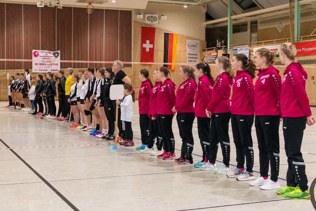 EFA Fistball Women´s Champions Cup Indoor vom 10. - 11.01.2020 in Dennach