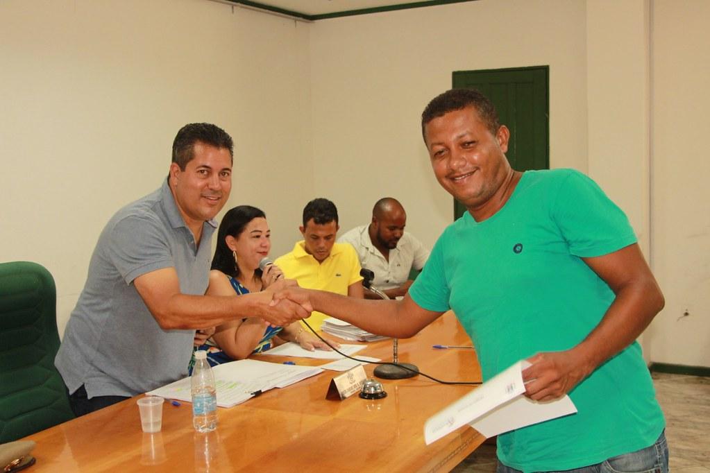 Cerimônia de posse dos candidatos no processo seletivo de Alcobaça (14)