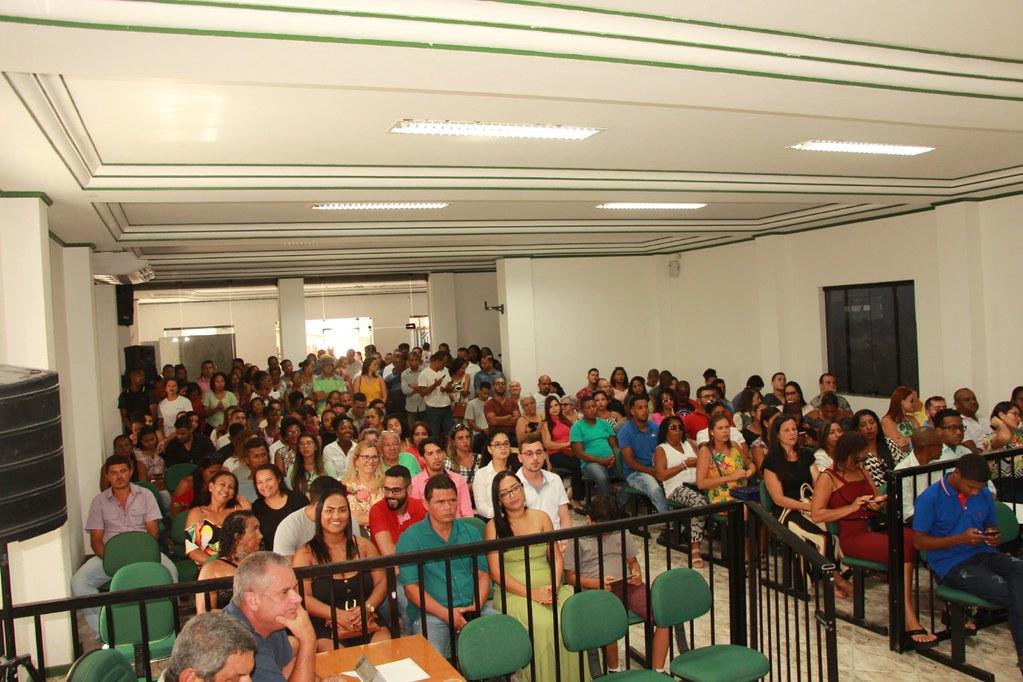 Cerimônia de posse dos candidatos no processo seletivo de Alcobaça (6)