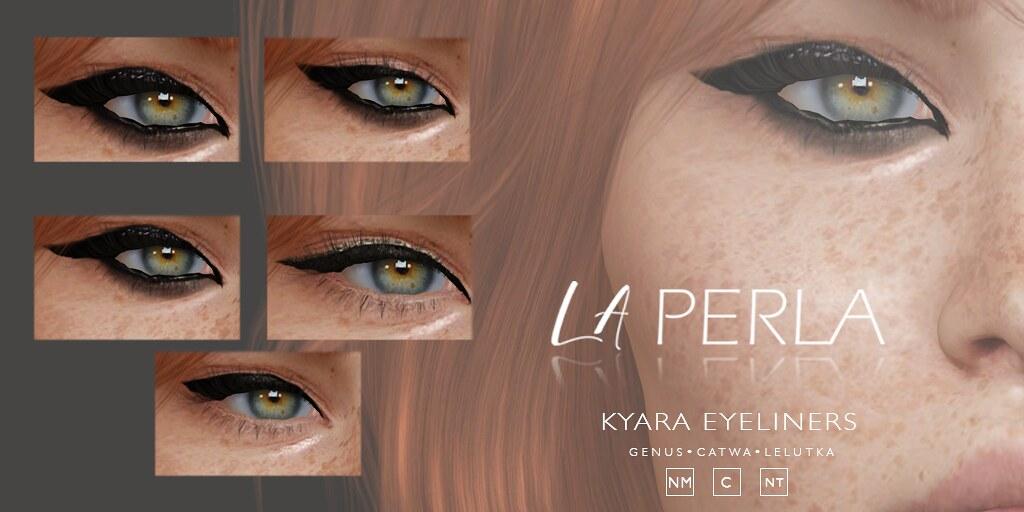 {LP}- Kyara  Eyeliners