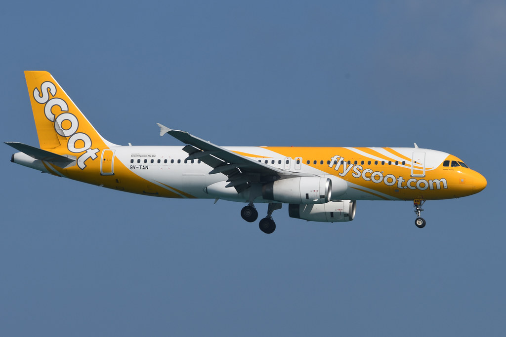 Scoot Airbus A320-232 9V-TAN msn 4210 at Phuket Dec 2019