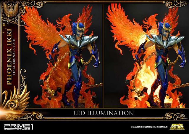 最強不死鳥戰士!Prime 1 Studio《聖鬪士星矢》鳳凰座 一輝 1/4 雕像(フェニックス一輝 1/4 スタチュー PMKZ-01S)