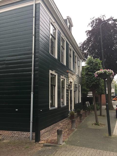 Burgemeesters woning van Krommenie , mayor home in a neighborhood I called home many years ago , Krommenie , Zaanstadt , North Holland ; Noord Holland ; the Netherlands , Nederland , June 10. 2019