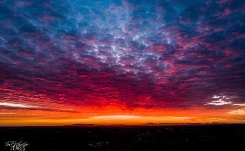 craigavon northernireland unitedkingdom sunrise drone mavic sky clouds