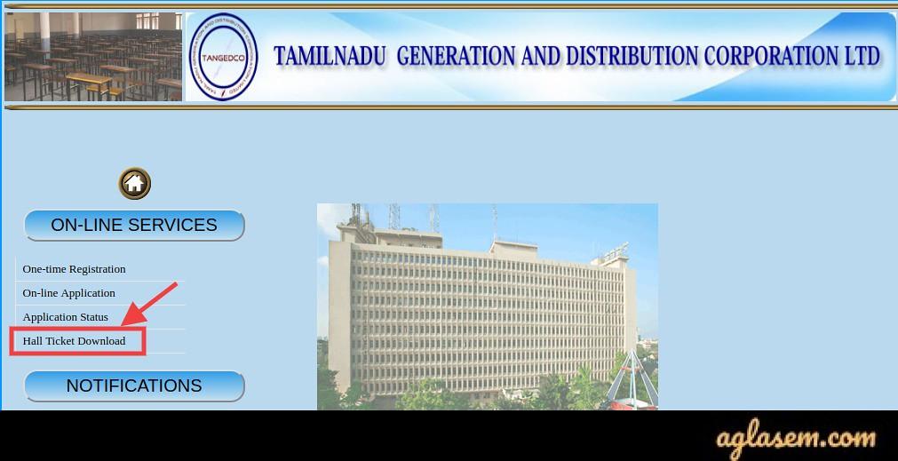 TNEB TANGEDCO Assessor Hall Ticket 2020