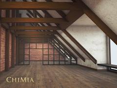 New Kobenhavn Loft in Moody Grunge by ChiMia