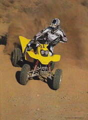 2001 Honda 400EX Sportrax - Dirt Wheels pic