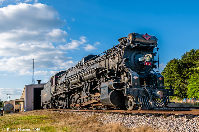 A locomotive as big as Texas