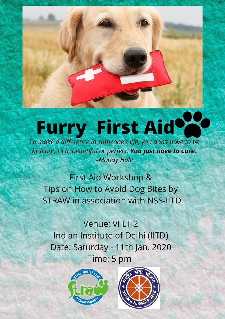 Furry First Aid @ IITD