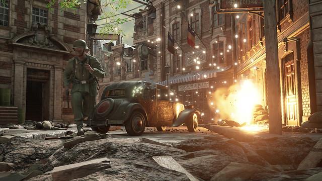 Dny války - exploze