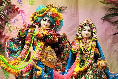 ISKCON Punjabi Bagh Deity Darshan 11 Jan 2020