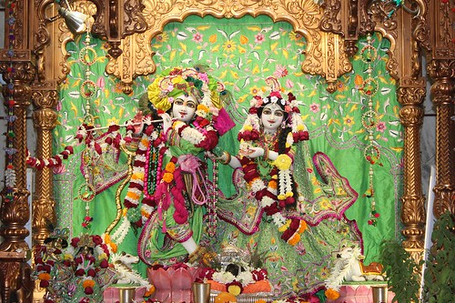 ISKCON Vallabh Vidyanagar Deity Darshan 11 Jan 2020