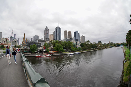 View from Princes Bridge, Melbourne | by Joe Lewit
