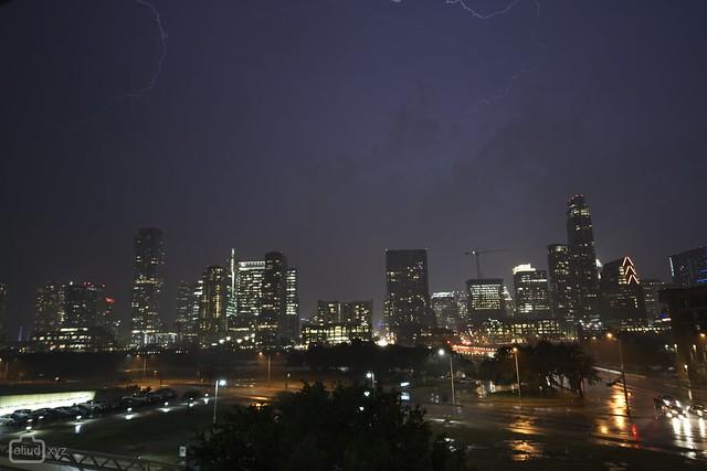 Lightning Over Austin.