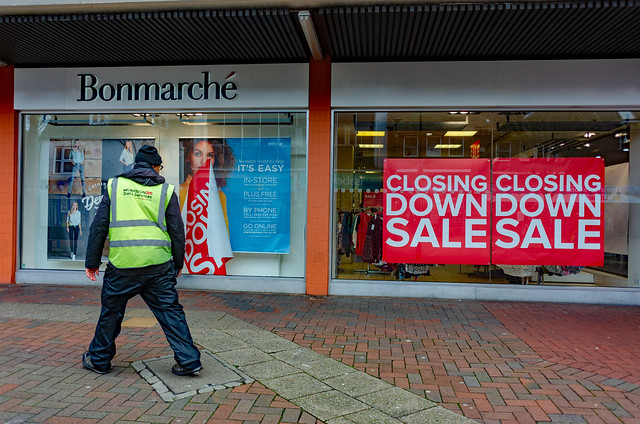 Closing Down: Waltham Cross High Street