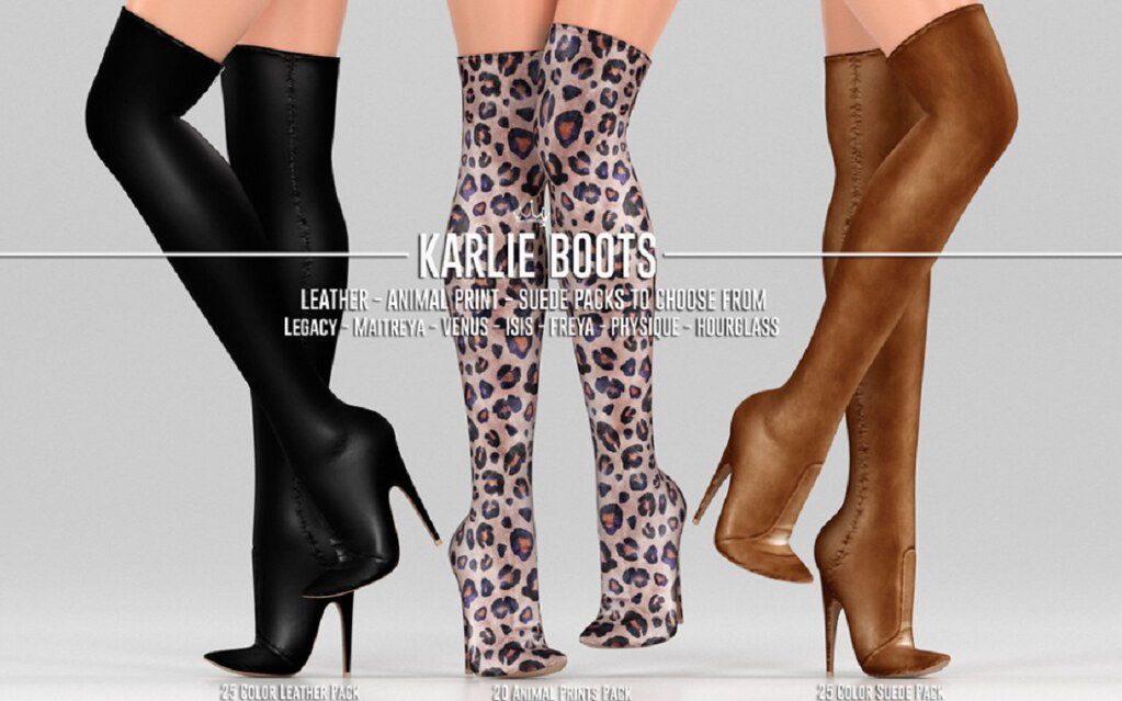 REIGN.- Karle Boots  @ equal10