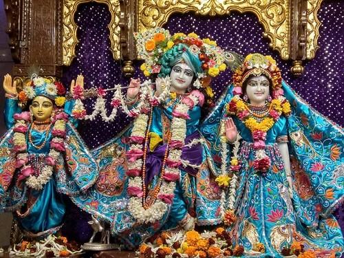 ISKCON Kolkata Deity Darshan 11 Jan 2020