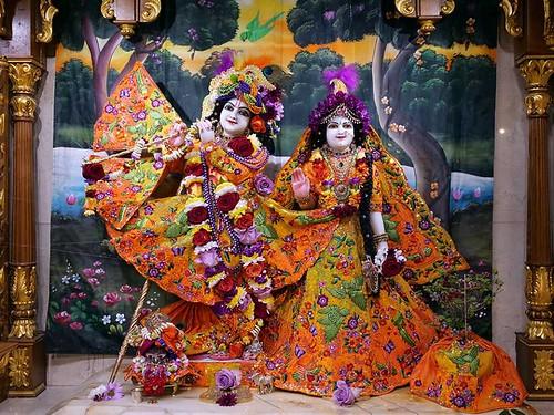 ISKCON London Deity Darshan 11 Jan 2020