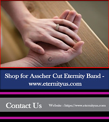 Shop for Asscher Cut Eternity Band - www.eternityus