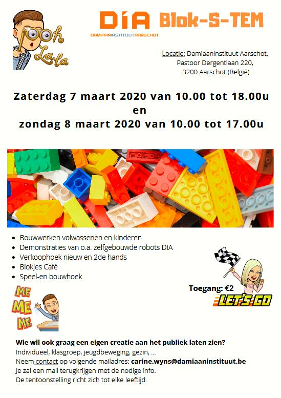 LEGO IN DIA