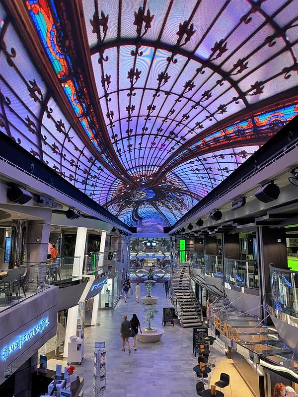 Dubain risteily, MSC Bellissima
