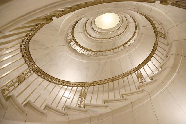 Elliptical spiral
