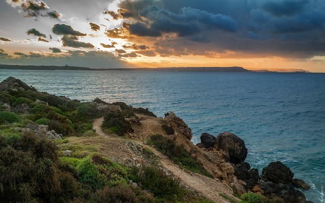 Küstenspaziergang unterhalb Fort Chambray [Gozo - Malta]
