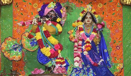 ISKCON Delhi Deity Darshan 11 Jan 2020