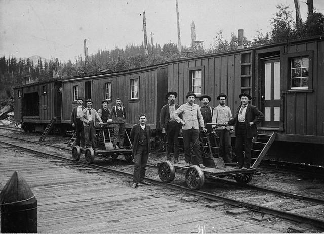 Railway Worker - Vintage Negative