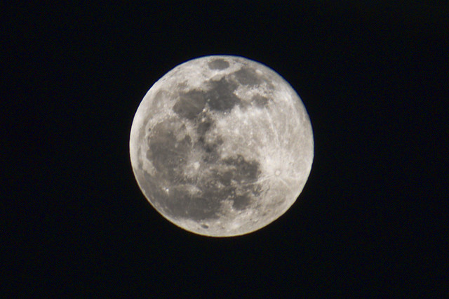 Full Moon Jan, 10, 2020