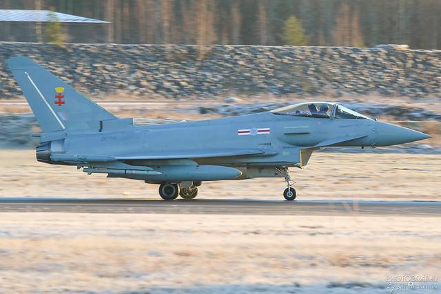 ZK356 United Kingdom Air Force Eurofighter Typhoon FGR4, EFTP, Finland