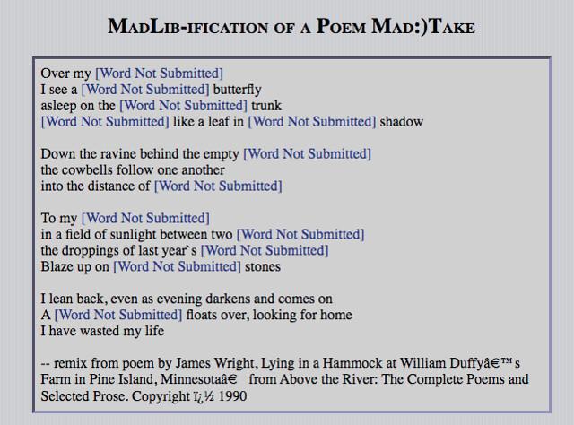 MadLibification