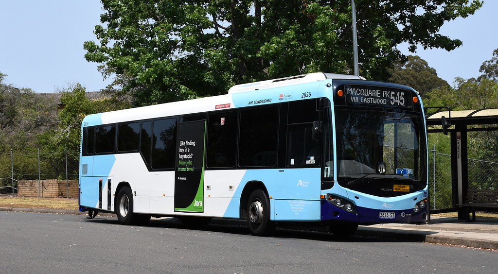 Bus 2826, Telopea, Sydney, NSW.