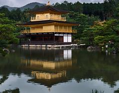 Kinkaku-ji, Pabellón dorado