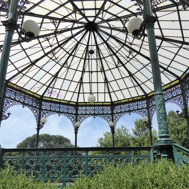 Chicago, Ravenswood, the Neighborhood I Grew Up In, Welles Park Gazebo