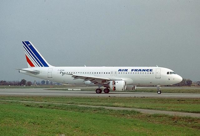 F-GFKN Airbus A320 Air France