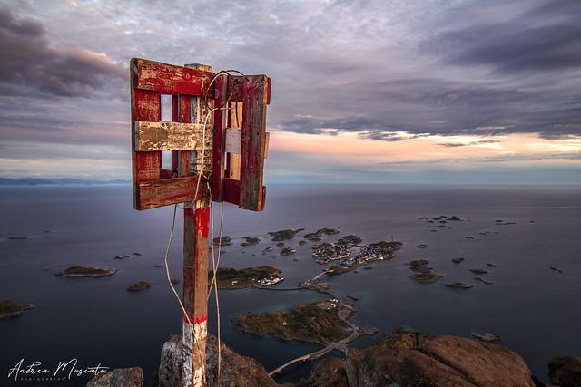 Festvågtinden Hike, Henningsvaer - Lofoten Islands (Norway)