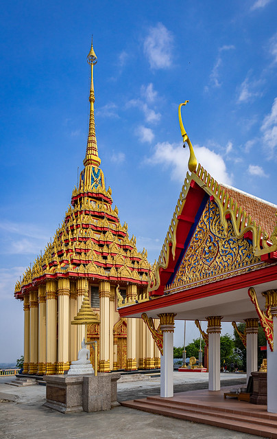 At the Top of the 442 Steps, Wat Sangkat Rattana Khiri, Uthai Thani