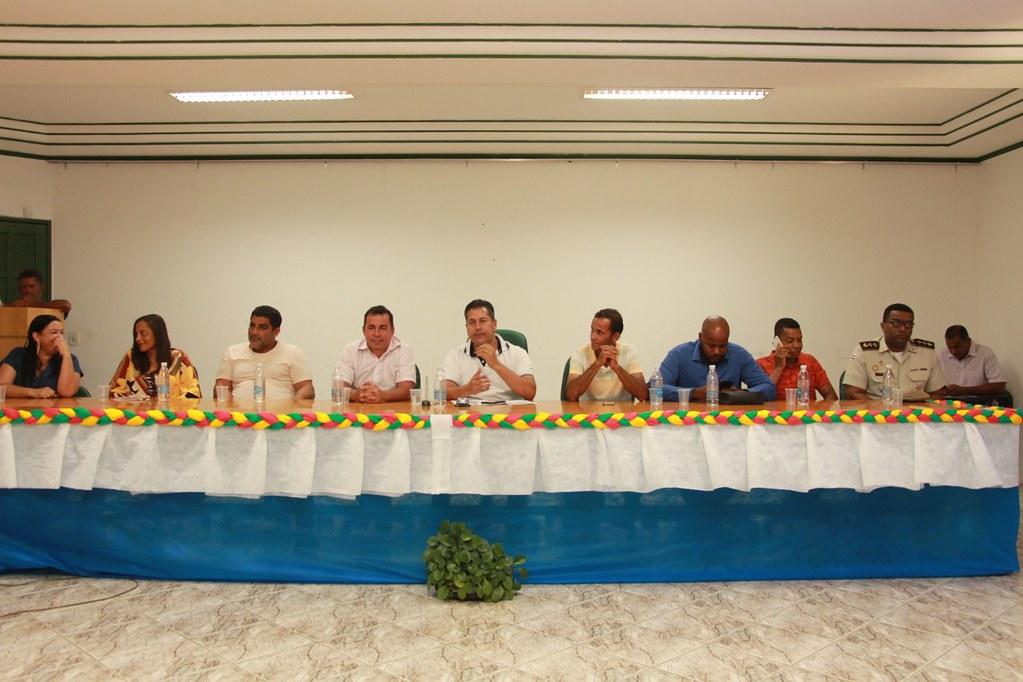 Composição da Mesa da Cerimônia do anúncio do pacote de obras do município de Alcobaça (1)