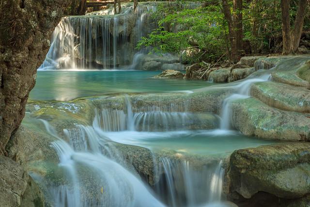 Water fall .