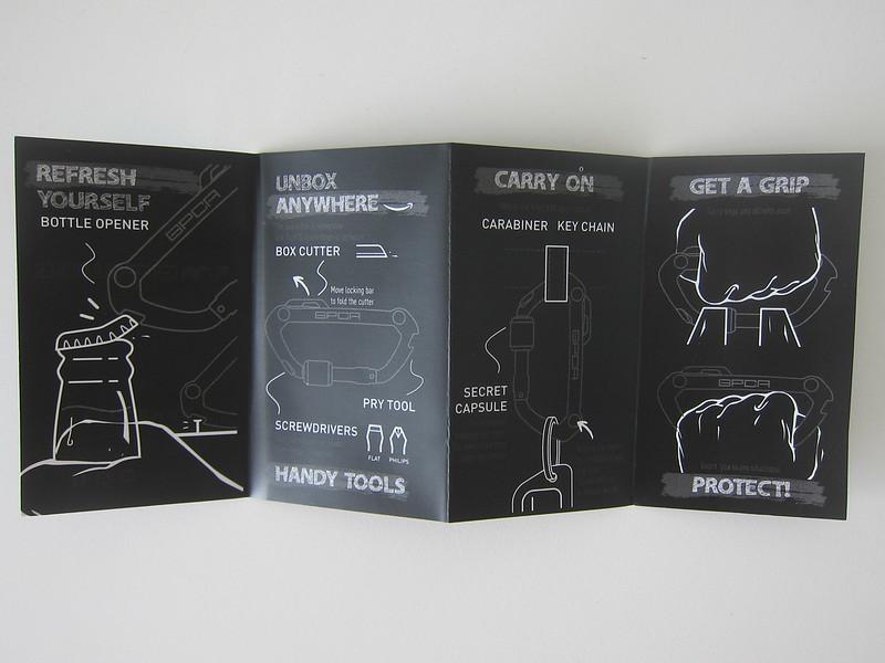 GPCA Carabiner - Manual