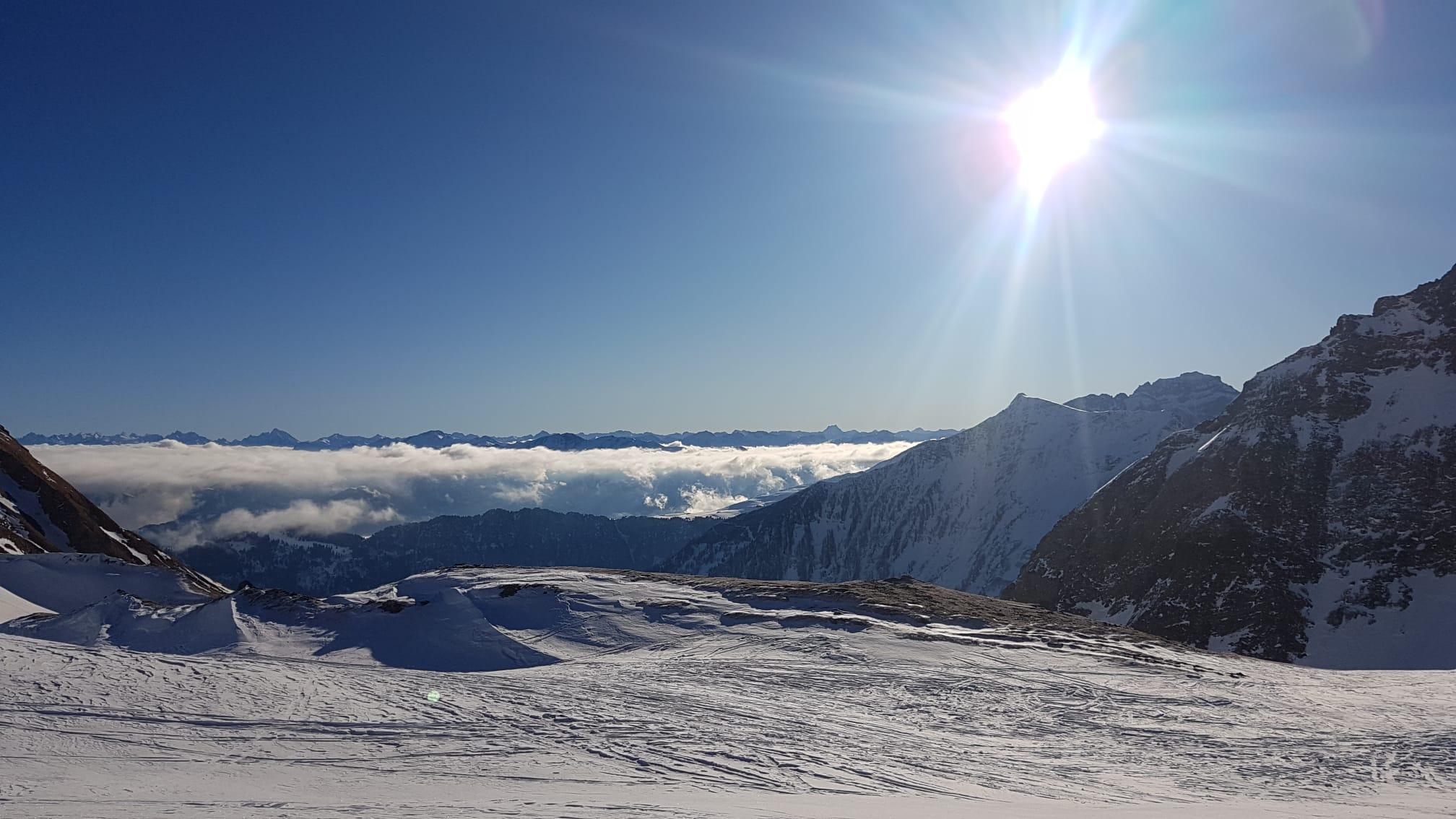 Skitour Pizolsattel 2020
