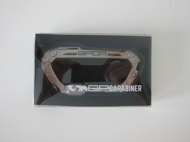 GPCA Carabiner - Box Front