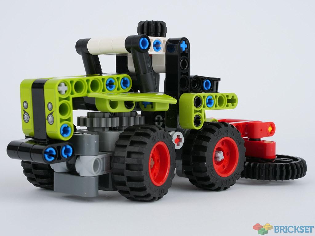 LEGO Technic 42102 Mini CLAAS XERION review