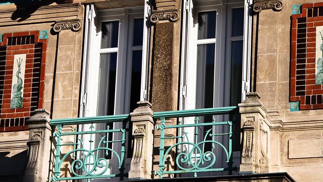 Maison pompéienne - rue Monselet