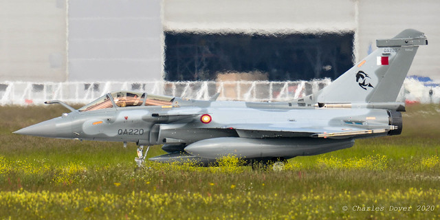 Rafale EQ - QA220 - Qatari Emiri AF