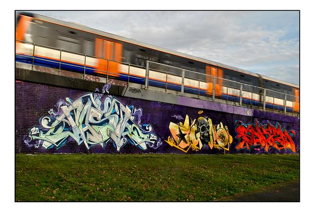 LONDON STREET ART by JASIK/AGONY/SOKEM.